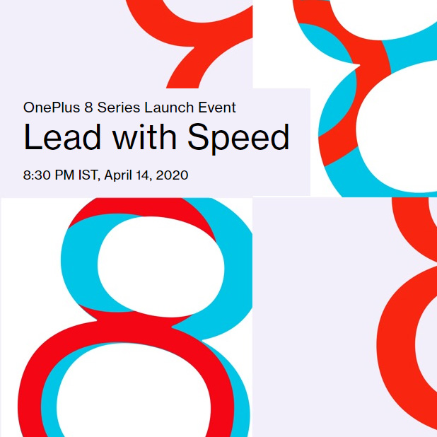 OnePlus 8 Launch is on 14th April 2020