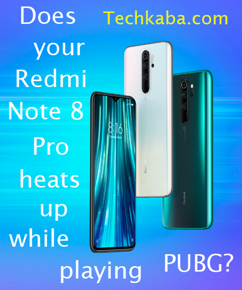 Redmi Note 8 Pro Heating Issues